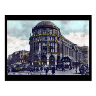 Old Postcard - Berlin, Potsdamer Platz