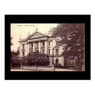 Old Postcard, Berliner Theater, Berlin Postcard