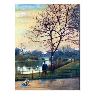 Old Postcard - Birkenhead Park.