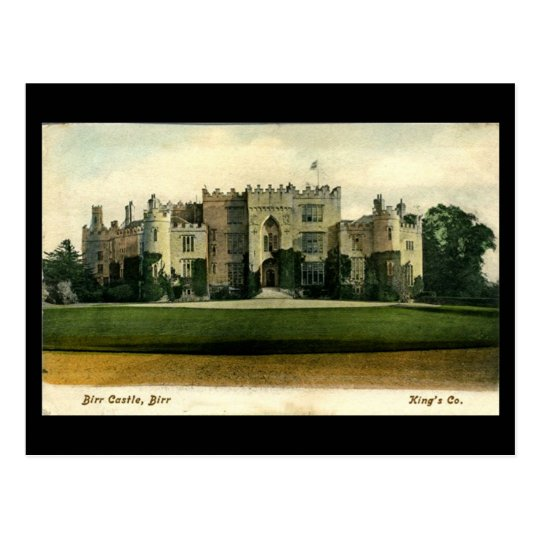 Old Postcard - Birr Castle, Co Offaly, Ireland