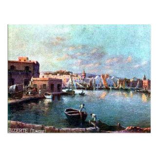 Old Postcard - Bizerte, Tunisia