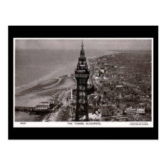 Old Postcard, Blackpool Tower Postcard