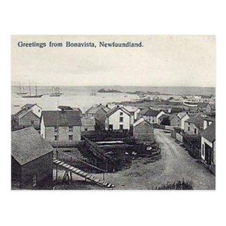 Old Postcard - Bonavista, Newfoundland
