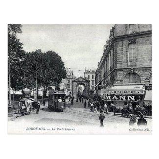 Old Postcard - Bordeaux, France