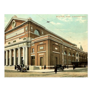 Old Postcard - Boston, Massachusetts