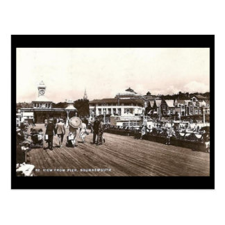 Old Postcard - Bournemouth Pier