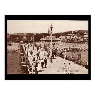 Old Postcard - Bournemouth Pier