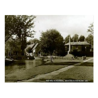 Old Postcard - Bourton-on-the-Water. Glos