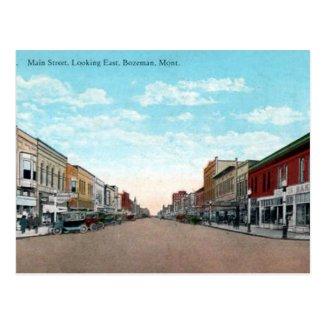 Old Postcard - Bozeman, Montana, USA
