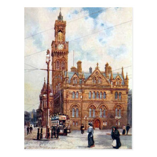 Old Postcard - Bradford, Yorkshire