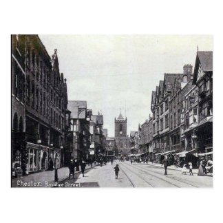 Old Postcard - Bridge Street, Chester