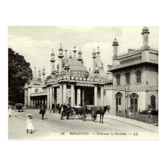 Old Postcard - Brighton Pavilion