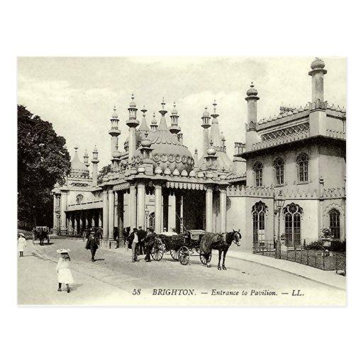 Old Postcard - Brighton Pavilion