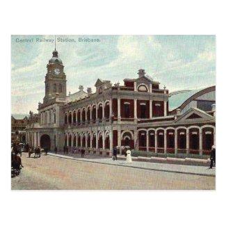 Old Postcard - Brisbane, Queensland