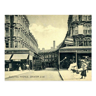Old Postcard - Brixton, London