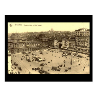 Old Postcard - Brussels