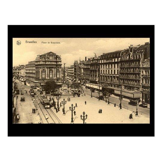 Old Postcard - Brussels