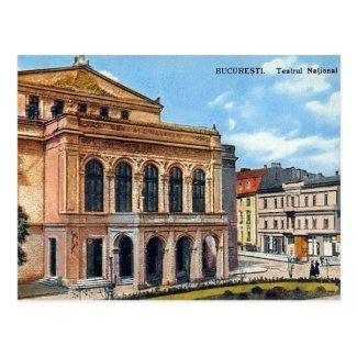 Old Postcard - Bucharest, Romania