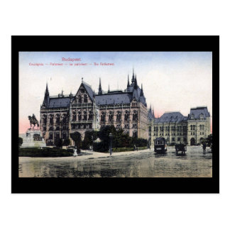 Old Postcard - Budapest, Parliament 1913