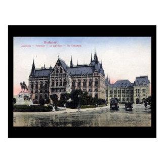 Old Postcard - Budapest, Parliament 1913