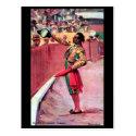 Old Postcard - Bullfighting