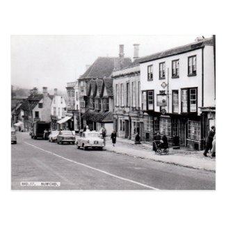 Old Postcard - Burford, Oxfordshire, England