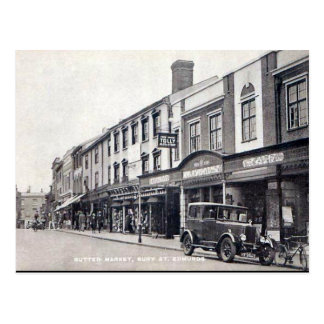 Old Postcard - Bury St Edmunds, Suffolk