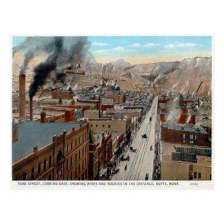 Old Postcard - Butte, Montana, USA