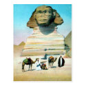 Old Postcard - Cairo, the Sphinx