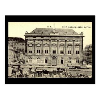 Old Postcard - Calais, Hotel de Ville