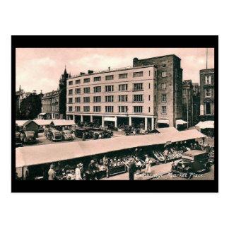 Old Postcard - Cambridge