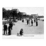 Old Postcard - Cannes, Promenade de la Croisette