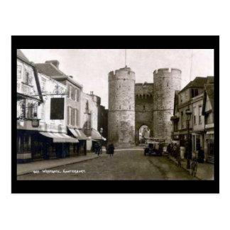 Old Postcard - Canterbury, Kent