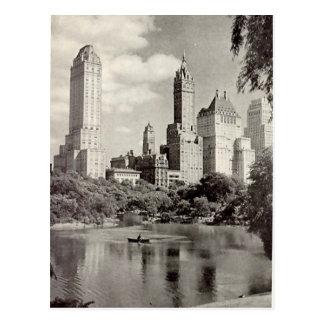 Old Postcard - Central Park, New York City