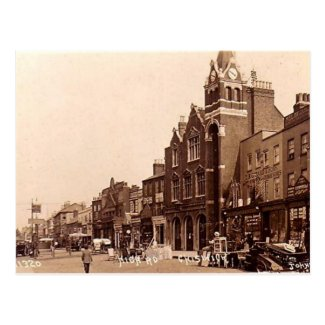 Old Postcard - Chiswick, London