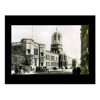 Old Postcard, Christ Church, Oxford Postcard