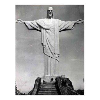 Old Postcard - Christo Redemptor, Rio de Janeiro