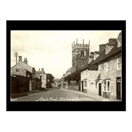 Old Postcard, Church St, Shipston-on-Stour, Warwic