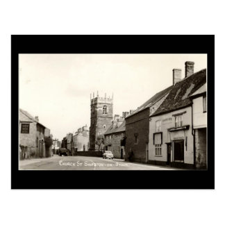 Old Postcard, Church Street, Shipston-on-Stour, Wa Postcard