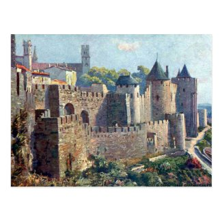 Old Postcard - Cité de Carcassonne, Aude