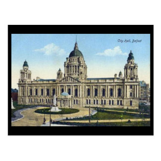 Old Postcard - City Hall, Belfast