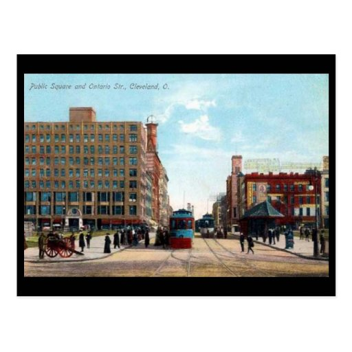 Old Postcard - Cleveland, Ohio Post Card