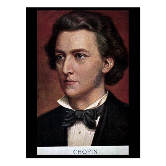 Old Postcard - Composers - Chopin