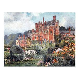 Old Postcard - Compton Wynyates, Warks, England