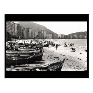 Old Postcard - Copacabana, Rio de Janeiro
