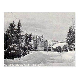 Old Postcard - Corner Brook, Newfoundland