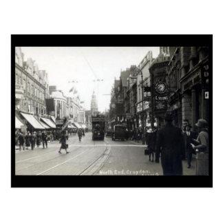 Old Postcard - Croydon, London