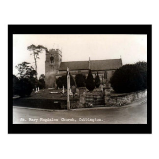 Old Postcard - Cubbington Church, Leamington Spa