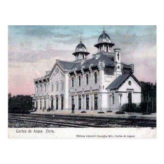 Old Postcard - Curtea de Arges, Romania