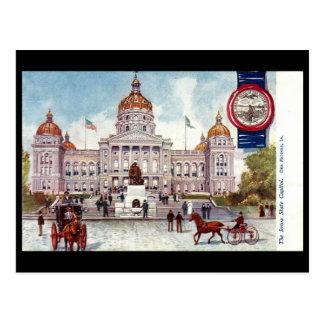 Old Postcard - Des Moines, Iowa, USA